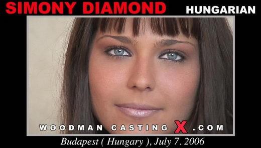 Simony Diamond - `Simony Diamond casting` - by Pierre Woodman for WOODMANCASTINGX