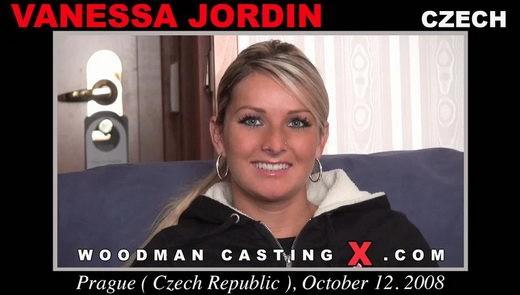 Vanessa Jordin - `Vanessa Jordin casting` - by Pierre Woodman for WOODMANCASTINGX