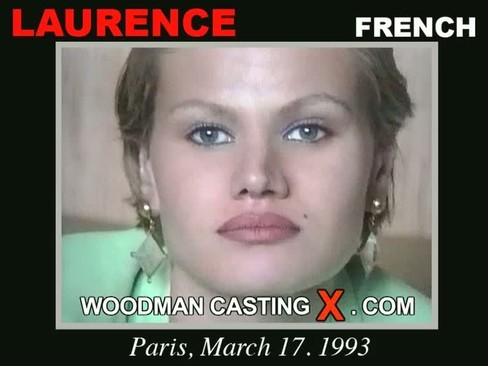Laurence - `Laurence casting` - by Pierre Woodman for WOODMANCASTINGX