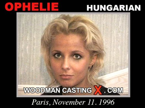 Ophelie - `Ophelie casting` - by Pierre Woodman for WOODMANCASTINGX