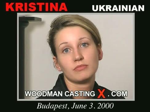 Kristina - `Kristina casting` - by Pierre Woodman for WOODMANCASTINGX