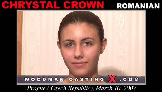 Chrystal Crown - `Chrystal Crown casting` - by Pierre Woodman for WOODMANCASTINGX