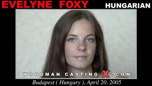 Evelyne Foxy - `Evelyne Foxy casting` - by Pierre Woodman for WOODMANCASTINGX