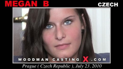 Megan  B - `Megan B casting` - by Pierre Woodman for WOODMANCASTINGX