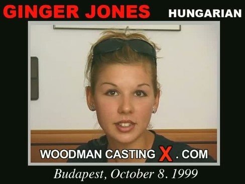 Ginger Jones - `Ginger Jones casting` - by Pierre Woodman for WOODMANCASTINGX