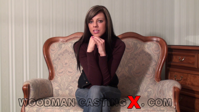 Mellie Swan - `Mellie Swan casting` - by Pierre Woodman for WOODMANCASTINGX