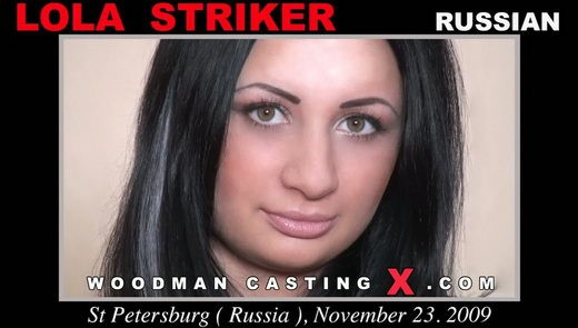 Lola Striker - `Lola Striker casting` - by Pierre Woodman for WOODMANCASTINGX