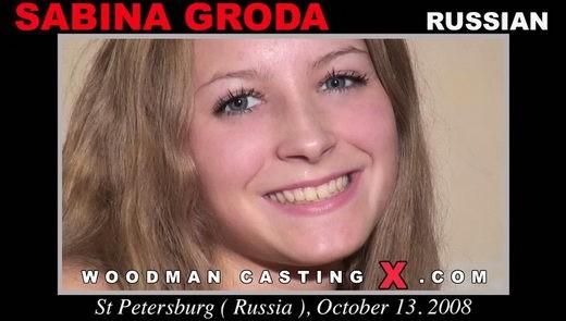 Sabina Gruda - `Sabina Gruda casting` - by Pierre Woodman for WOODMANCASTINGX