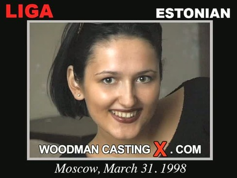 Liga - `Liga casting` - by Pierre Woodman for WOODMANCASTINGX
