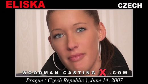 Eliska - `Eliska casting` - by Pierre Woodman for WOODMANCASTINGX
