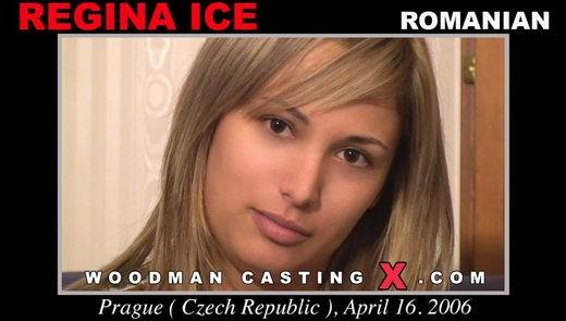 Regina Ice - `Regina Ice casting` - by Pierre Woodman for WOODMANCASTINGX