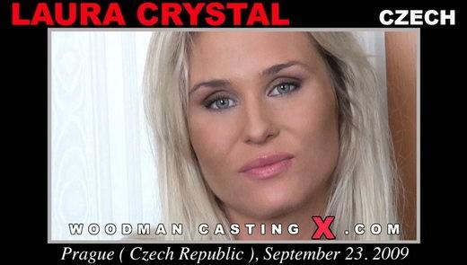 Laura Crystal - `Laura Crystal casting` - by Pierre Woodman for WOODMANCASTINGX