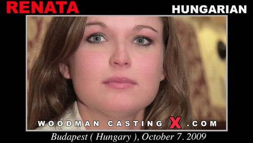 Renata - `Renata casting` - by Pierre Woodman for WOODMANCASTINGX