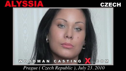Alyssia - `Alyssia casting` - by Pierre Woodman for WOODMANCASTINGX