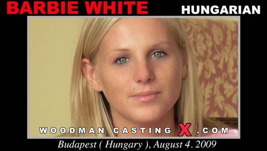 Barbie White - `Barbie White casting` - by Pierre Woodman for WOODMANCASTINGX