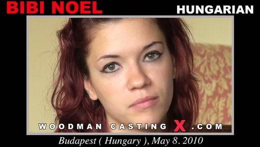 Bibi Noel - `Bibi Noel casting` - by Pierre Woodman for WOODMANCASTINGX
