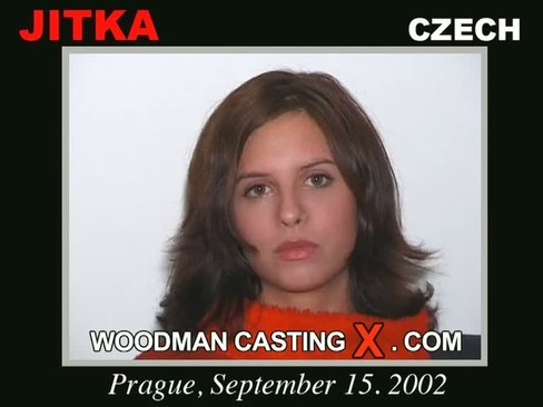 Jitka - `Jitka casting` - by Pierre Woodman for WOODMANCASTINGX