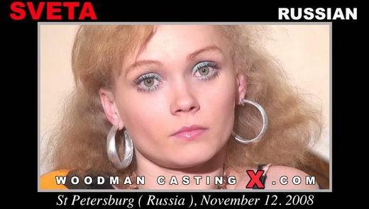 Sveta - `Sveta casting` - by Pierre Woodman for WOODMANCASTINGX