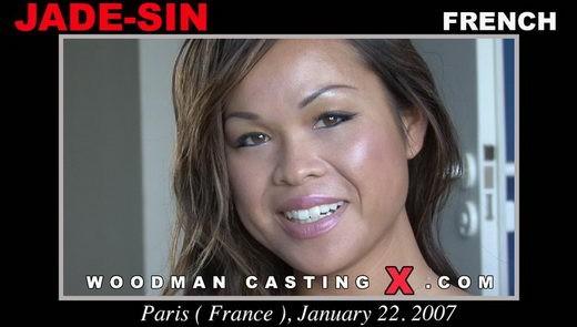 Jade Sin - `Jade Sin casting` - by Pierre Woodman for WOODMANCASTINGX