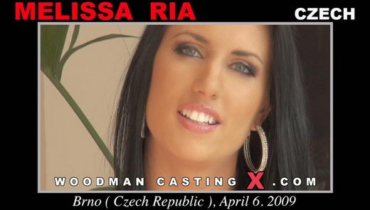 Melissa Ria - `Melissa Ria casting` - by Pierre Woodman for WOODMANCASTINGX