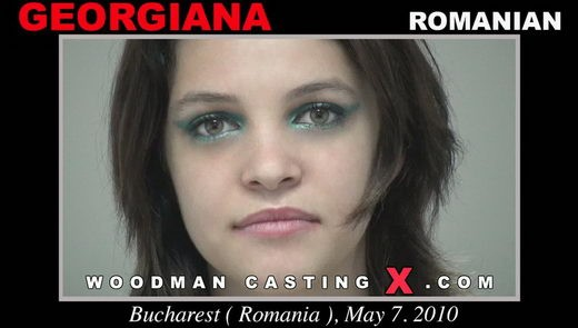 Georgina - `Georgiana casting` - by Pierre Woodman for WOODMANCASTINGX