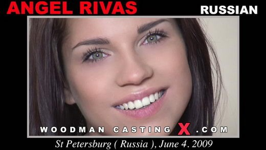 Angel Rivas - `Angel Rivas casting` - by Pierre Woodman for WOODMANCASTINGX
