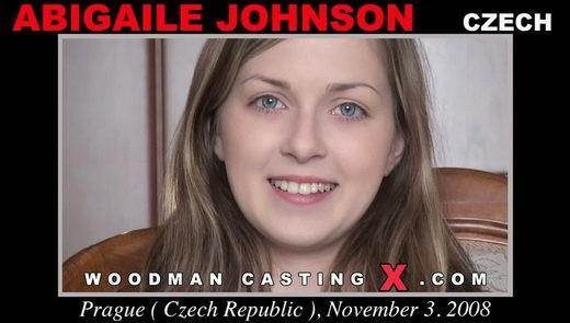 Abigaile Johnson - `Abigaile Johnson casting` - by Pierre Woodman for WOODMANCASTINGX