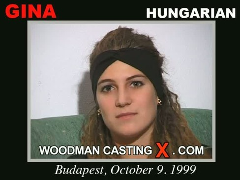 Gina - `Gina casting` - by Pierre Woodman for WOODMANCASTINGX