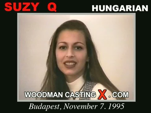 Suzy Q - `Suzy Q casting` - by Pierre Woodman for WOODMANCASTINGX