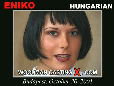 Eniko - `Eniko casting` - by Pierre Woodman for WOODMANCASTINGX