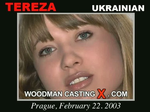 Tereza - `Tereza casting` - by Pierre Woodman for WOODMANCASTINGX