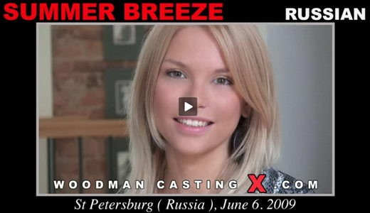 Summer Breeze - `Summer Breeze casting` - by Pierre Woodman for WOODMANCASTINGX