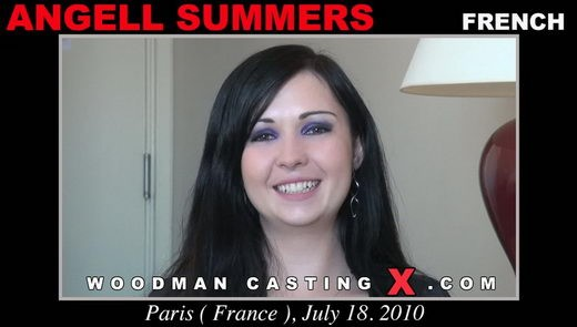 Angell Summers - `Angell Summers casting` - by Pierre Woodman for WOODMANCASTINGX