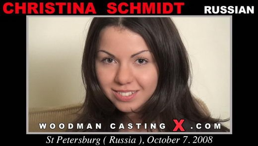 Christina Schmidt - `Christina Schmidt casting` - by Pierre Woodman for WOODMANCASTINGX