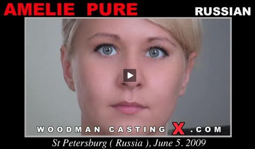 Amelie Pure - `Amelie Pure casting` - by Pierre Woodman for WOODMANCASTINGX