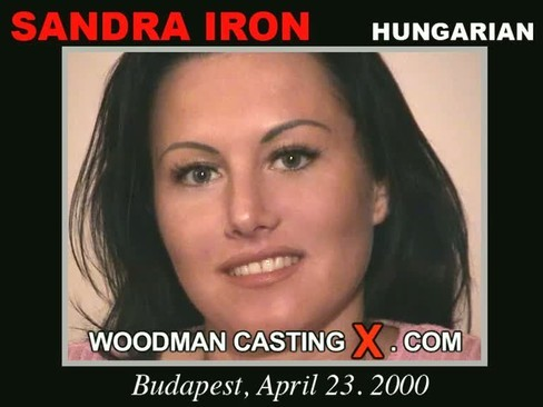 Sandra Iron - `Sandra Iron casting` - by Pierre Woodman for WOODMANCASTINGX