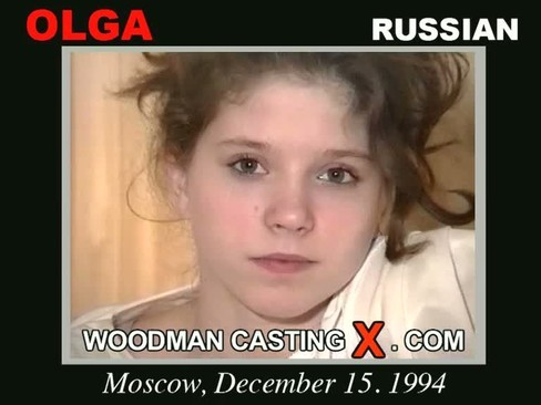 Olga - `Olga casting` - by Pierre Woodman for WOODMANCASTINGX
