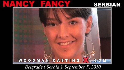 Nancy Fancy - `Nancy Fancy casting` - by Pierre Woodman for WOODMANCASTINGX