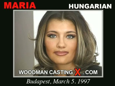 Maria - `Maria casting` - by Pierre Woodman for WOODMANCASTINGX