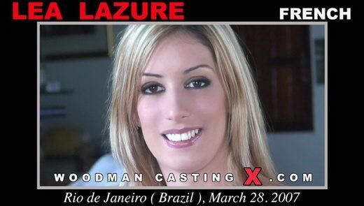 Lea Lazure - `Lea Lazure casting` - by Pierre Woodman for WOODMANCASTINGX