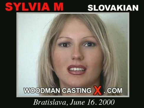 Sylvia M - `Sylvia M casting` - by Pierre Woodman for WOODMANCASTINGX