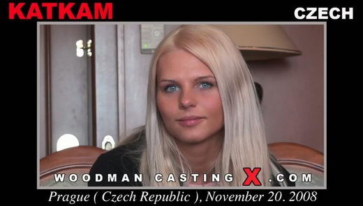 Katkam - `Katkam casting` - by Pierre Woodman for WOODMANCASTINGX