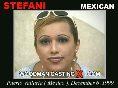 Stefani - `Stefani casting` - by Pierre Woodman for WOODMANCASTINGX