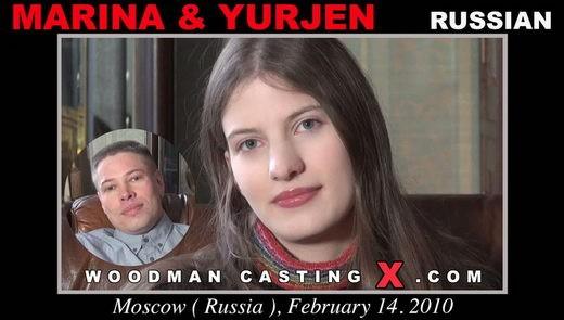 Marina & Yurjen - `Marina & Yurjen casting` - by Pierre Woodman for WOODMANCASTINGX