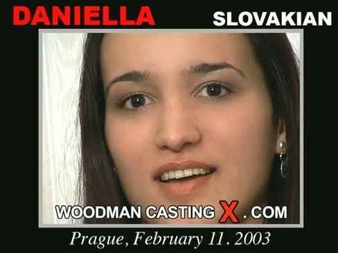 Daniella - `Daniella casting` - by Pierre Woodman for WOODMANCASTINGX