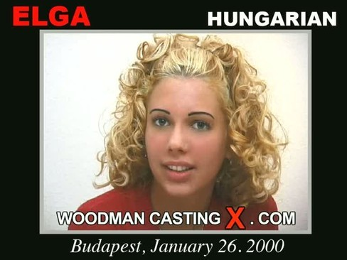 Elga - `Elga casting` - by Pierre Woodman for WOODMANCASTINGX