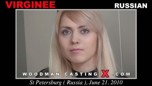 Virginee - `Virginee casting` - by Pierre Woodman for WOODMANCASTINGX