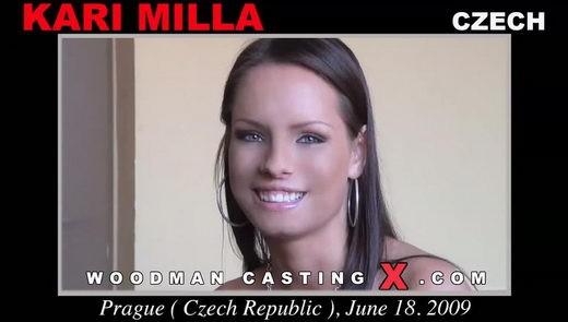 Kari Milla - `Kari Milla casting` - by Pierre Woodman for WOODMANCASTINGX