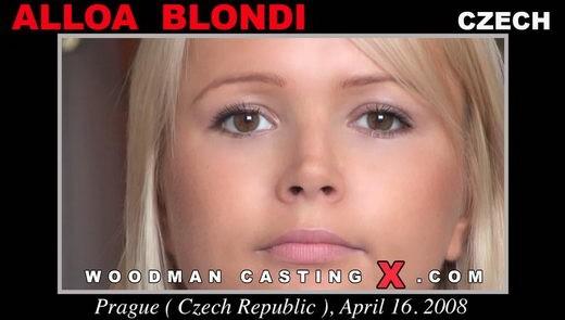 Alloa Blondi - `Alloa Blondi casting` - by Pierre Woodman for WOODMANCASTINGX