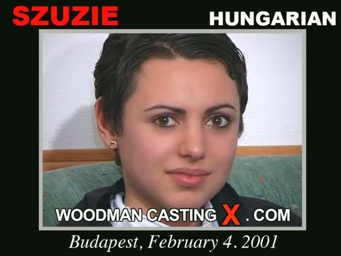 Szuzie - `Szuzie - added 2010-12-06 casting` - by Pierre Woodman for WOODMANCASTINGX
